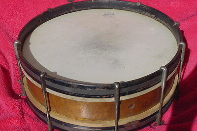 "Vintage Harmony Drum Snare Drum The Harmony Co. 15 1/2"" Snare Rare Dated 1913"