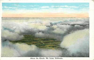 CA-MT. LOWE-ABOVE THE CLOUDS-MAILED 1931-H14637