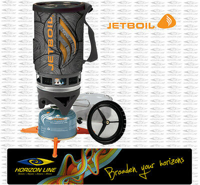 JETBOIL FLASH JAVA - Jet Boil Coffee Press Compact Hiking Gas Stove Cooking set