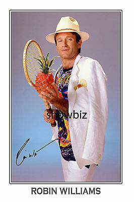 Robin Williams Large Signed Autograph Poster Photo Print - Hollywood Icon