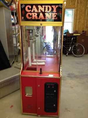 Candy Crane Clean Sweep Arcade Game