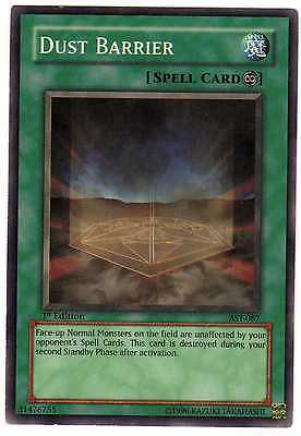 Dust Barrier AST-087 Carte Yu-Gi-Oh! 1st FIRST EDITION ENGLISH CARD