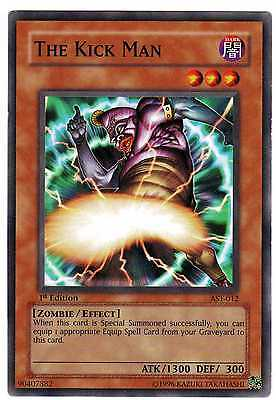 The Kick Man AST-012 Carte Yu-Gi-Oh! 1st FIRST EDITION ENGLISH CARD