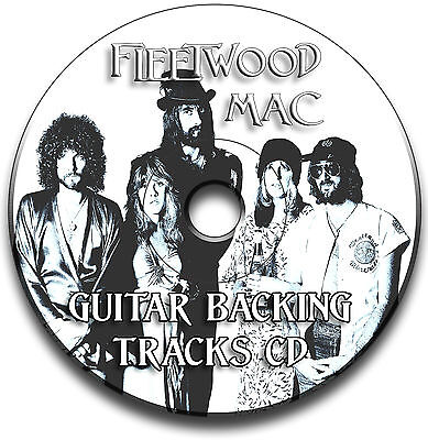 Fleetwood Mac Style Rock Guitar Backing Tracks Collection Cd Jam Tracks