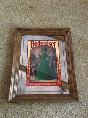 Budweiser Green Dress Lady extremely RARE