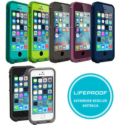 online retailer a411e a6706 GENUINE LIFEPROOF FRE Frē dust shock waterproof case cover for iPhone SE 5S