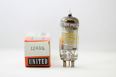 12Ad6 Tube. Mixed Brand Tube. Nos / Nib. Rcb129.