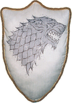Game Of Thrones Cuscino House Stark Casa Ned Robb Jon Snow 56 Cm Trono Di Spade
