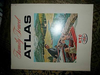 Humble Travel Club Family Travel Atlas 1967 your trip-planning made easier
