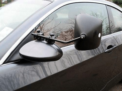 2 x Milenco Grand Aero 3 Extra Wide Caravan Towing Mirrors- Regular Convex Glass