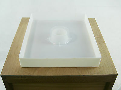 Beekeeping shallow Gallon (4L) feeder - Complete With  Feeder  Board
