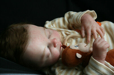 REBORN SOFT VINYL CHASE DOLL KIT  WITH NEW LIMBS BY CHERYL WEBBER