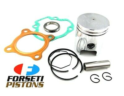 HONDA QR50 82-03 1.00mm O/S FORSETI TOP END KIT 41mm PISTON RINGS GASKET KIT