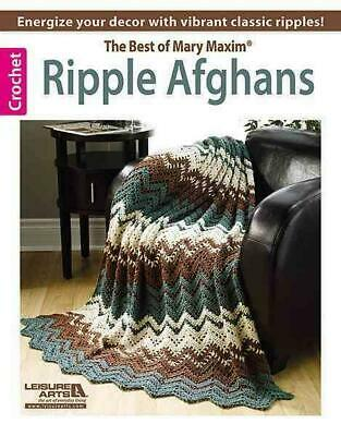 Ripple Afghans -- The Best of Mary Maxim by Candi Jensen (English) Paperback Boo