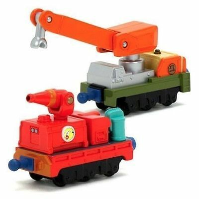 Learning Curve Chuggington Diecast Calley's Fire And Rescue Cars New Lc54014