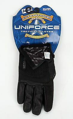 Franklin Uniforce Cut & Pathogen Kevlar & Hipora Lined Tactical Gloves Small