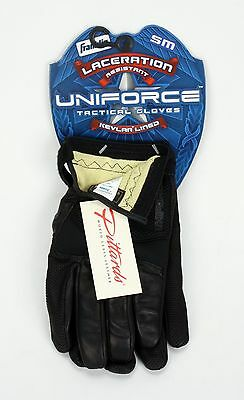 Franklin Uniforce Laceration Resistant Kevlar Lined Tactical Gloves Small