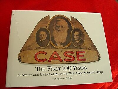Case The First Hundred Years Jim Giles SIGNED 192 page Hardcover knife book 1989