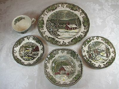 Johnson Brothers Friendly Village 5-Piece Place Setting - MADE IN ENGLAND