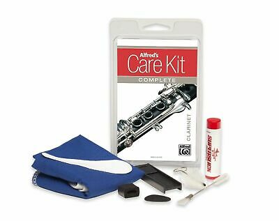 Alfred's Care Kit Complete For Clarinet *NEW* Inc. Cushions, Swabs, Cork Grease