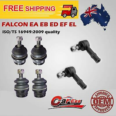 Ford EA EB ED EF EL  Ball Joints + Tie Rod Ends Falcon Falirlane Fairmont Kit