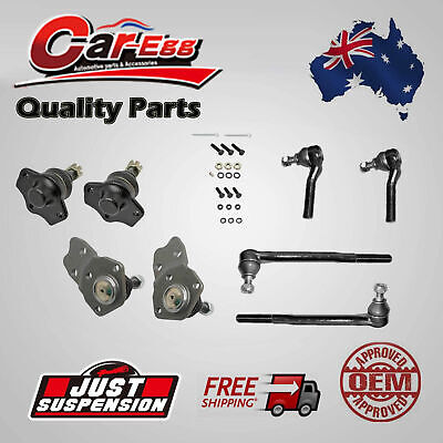 8 Ball Joints Tie Rod Ends for Ford Falcon Fairlane XD XE XF XG ZJ ZK ZL