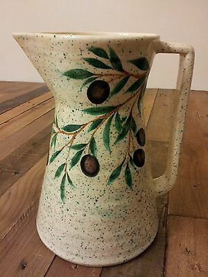 Intrada made in Italy with Olive's branch Pitcher Jug # 8031