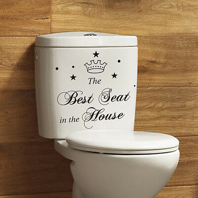 The Best Seat Vinyl Wall Decal Removable Quote Lettering Art Home Mural Décor