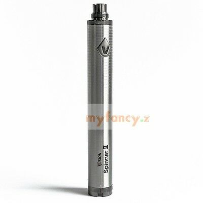 Vision Spinner II 1600mAh Variable Voltage Battery for 510Thread Vaporizer @Silv