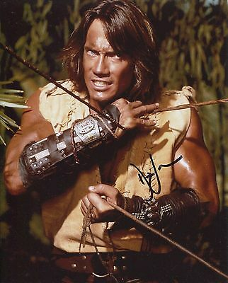Kevin Sorbo Signed Adventures of Hercules Signed Photo. With FanExpo COA +proof
