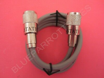 Astatic A8X3 3` Ft Cb / Ham Radio Rg8X Mini-8 Antenna Coax Jumper Cord