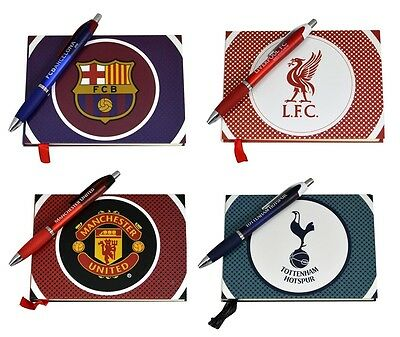 OFFICIAL FOOTBALL CLUB - Autograph Book & Pen Set (Gift, Xmas, Team, Signatures)
