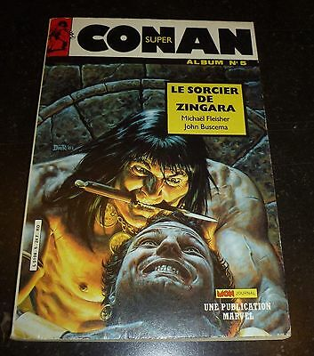 Buscema - Super Conan 5 - Marvel / Mon Journal