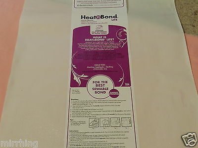 Heat n Bond Lite Double Sided Iron-on Adhesive - HeatnBond