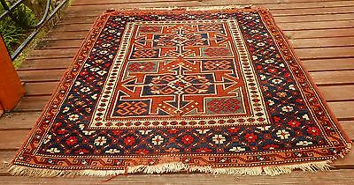 Rare Antique Bergama Pile Rug North West Turkey 1930