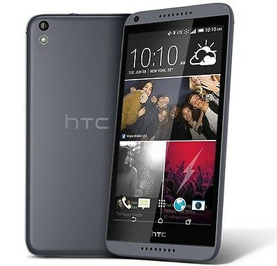 HTC Desire 816 Android 4.4 4G LTE Smartphone for Virgin Mobile - NEW