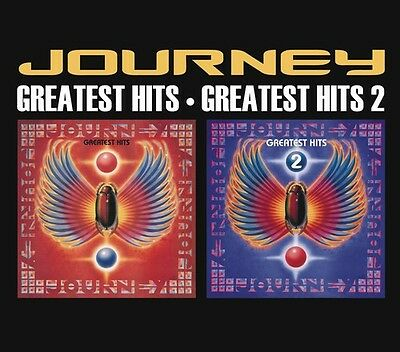 Journey - Greatest Hits 1 & 2 [CD New]