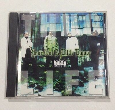 THUG LIFE Pour Out A LIttle Liquor US CD Single 2Pac Tupac Makaveli VERY RARE 94