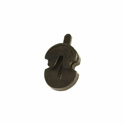 Shaped Rubber Violin Mute - Tourte Style *NEW* Black, Suits All Sizes, Quiet