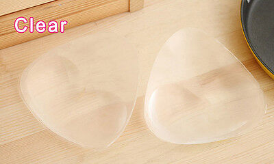Triangle Pads Silicone Swimsuit Push Up Bra Insert Breast Cleavage Enhancer CT