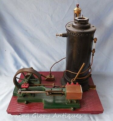 Huge Live Sipp Steam Engine Model with Cast Iron Boiler