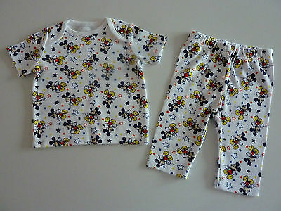 DISNEY Really Cute Mickey Mouse Boys PJ's NEW