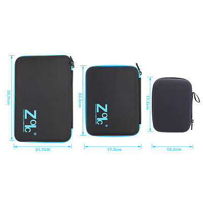 S/M/L Shockproof Travel Carry Storage Bag Case Fr GoPro Hero Camera 5 4 3+ 7 2 6