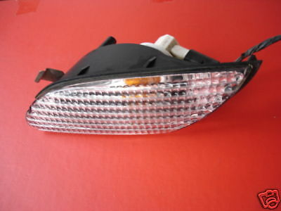 ROVER 25 MG ZR 1999 ONWARDS LEFT FRONT/NS INDICATOR LAMP/LENS