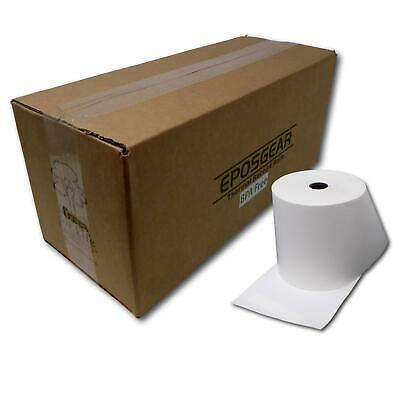 5 80mm x 80mm 80x80mm Economy Thermal Paper Till EPOS Printer Receipt Rolls