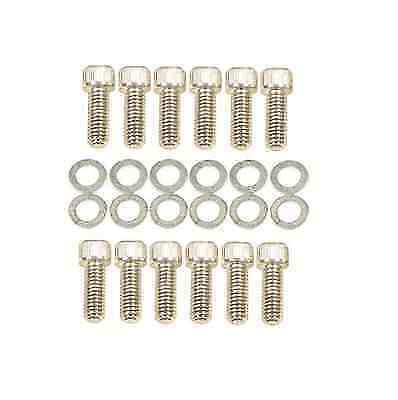 Mr. Gasket 956G Intake Manifold Bolt for Chevy 265-400; Socket Style 3/8-16""
