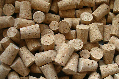 5 x Tapered Cork Bung Stopper Bottle size 1