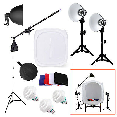 Product Photography Lighting 90cm Tent Kit - Cube Photo Studio Soft Box Shooting
