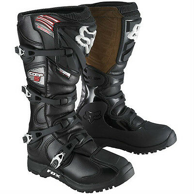 Fox Racing Comp 5 Offroad Black Boot 8 10 13 15 Enduro Motorcycle 05030-001