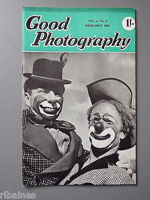 R&L Vintage Mag, Good Photography December 1950, Portraits/Greeting Cards